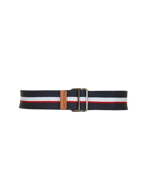 "<p><a href=""http://www.topshop.com/en/tsuk/product/we-love-432/utility-4076726/striped-webbing-belt-4020420?bi=21&ps=20"" target=""_blank"">Topshop</a> belt, £22</p>"
