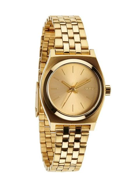 """<p>This little cracker is bound for Associate Health & Beauty Editor Amy Lawrenson's wrist.</p><p><a href=""""http://www.nixon.com/uk/en/product/small-time-teller-A399.html?sku=A399502-00"""" target=""""_blank"""">Nixon</a> watch, £85</p>"""
