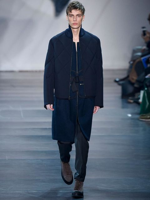 <p>3.1 Phillip Lim</p><p>Blending multiple textures and layering lengths always keeps things interesting.</p>