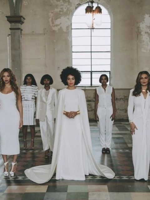<p>That time they were totally angelic at Solange's wedding</p>