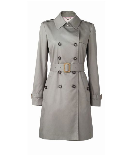 <p>We'll soon be able to start shedding the layers and the next cover-up you'll be sporting is a trench. May we recommend Banana Republic's new styles landing in stores this week… Banana Republic taupe trench, £150, for stockists call 0207 758 3550</p>