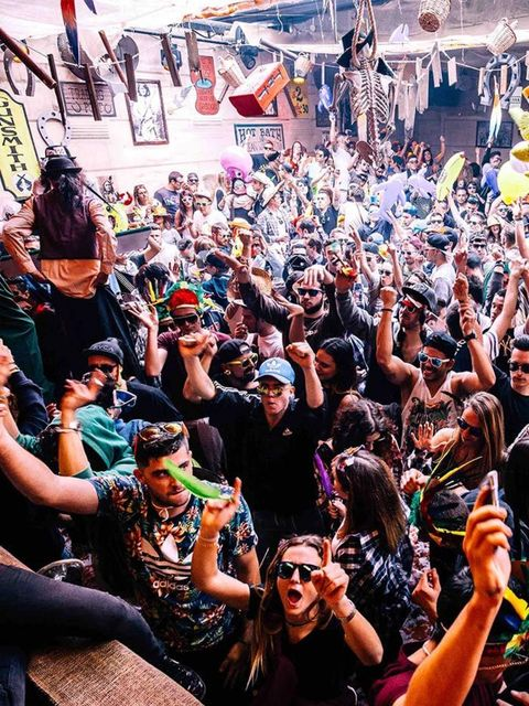 <p>NIGHTLIFE: Elrow – Far West Weekend</p>  <p>Remember when dance music was about – well, dancing around? Like a bit of a loon? With a goofy grin on your face? Well then, our EDM-weary friend, let us introduce you to Elrow. This Barcelona crew throw hila