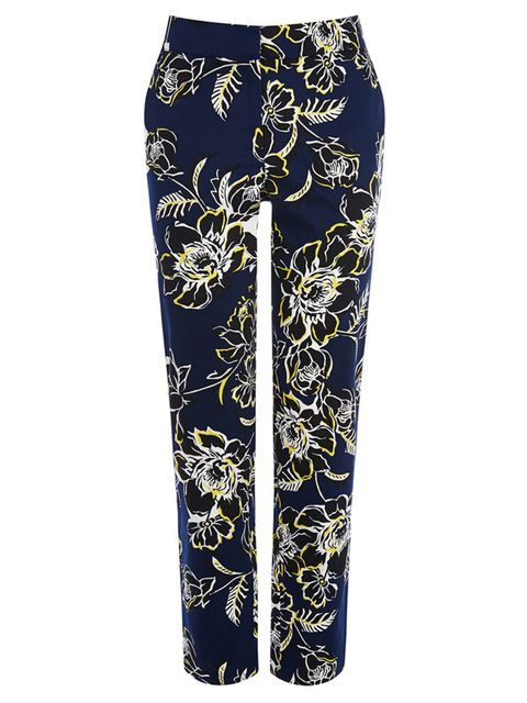 "<p><a href=""http://www.warehouse.co.uk/giant-floral-tailored-trouser/trousers-&-shorts/warehouse/fcp-product/02375434"" target=""_blank"">Warehouse</a> trousers, £38</p>"