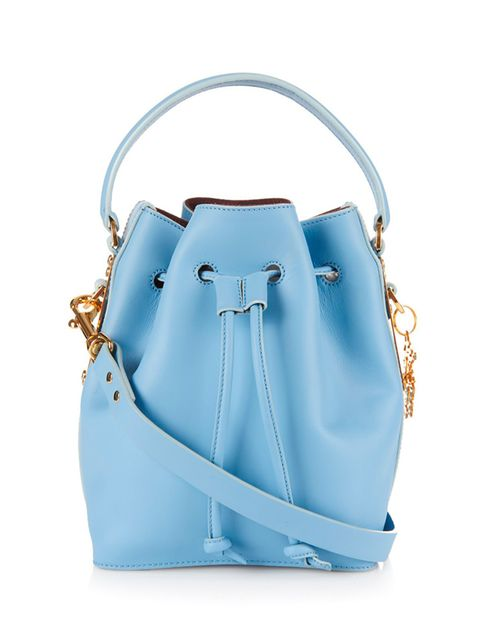 "<p>Sophie Hulme bucket bag, £595 available at <a href=""http://www.matchesfashion.com/products/Sophie-Hulme-Fleetwood-small-leather-bucket-bag-1018201"" target=""_blank"">matchesfashion.com</a></p>"