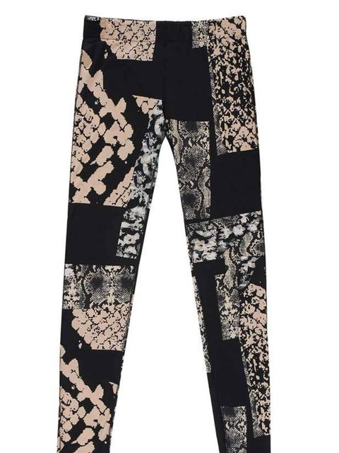 "<p>Snake print leggings, £100, by Acne at <a href=""http://www.brownsfashion.com/product/designers/womenscollections/focus/acne_jeans/030K16490003.htm"">Browns</a> </p>"