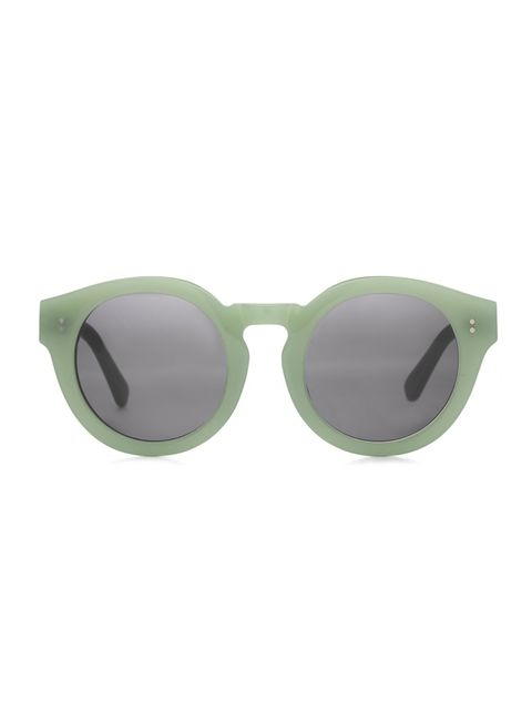 "<p>New heatwave, new sunnies...says Editorial Assistant Gilliant Brett. </p>  <p> </p>  <p><a href=""https://www.aceandtate.com/women-sunglasses/robin-frosted-mint-s"" target=""_blank"">Ace & Tate</a> Sunglasses, £89</p>"