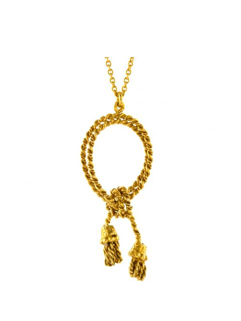 """<p>Fashion Assistant Billie Bhatia will be wearing this necklace all weekend with an off the shoulder dress (and feeling pretty regal)</p>  <p></p>  <p>Alex Monroe for Buckingham Palace Necklace, £174 @ <a href=""""http://www.royalcollectionshop.co.uk/jewel"""