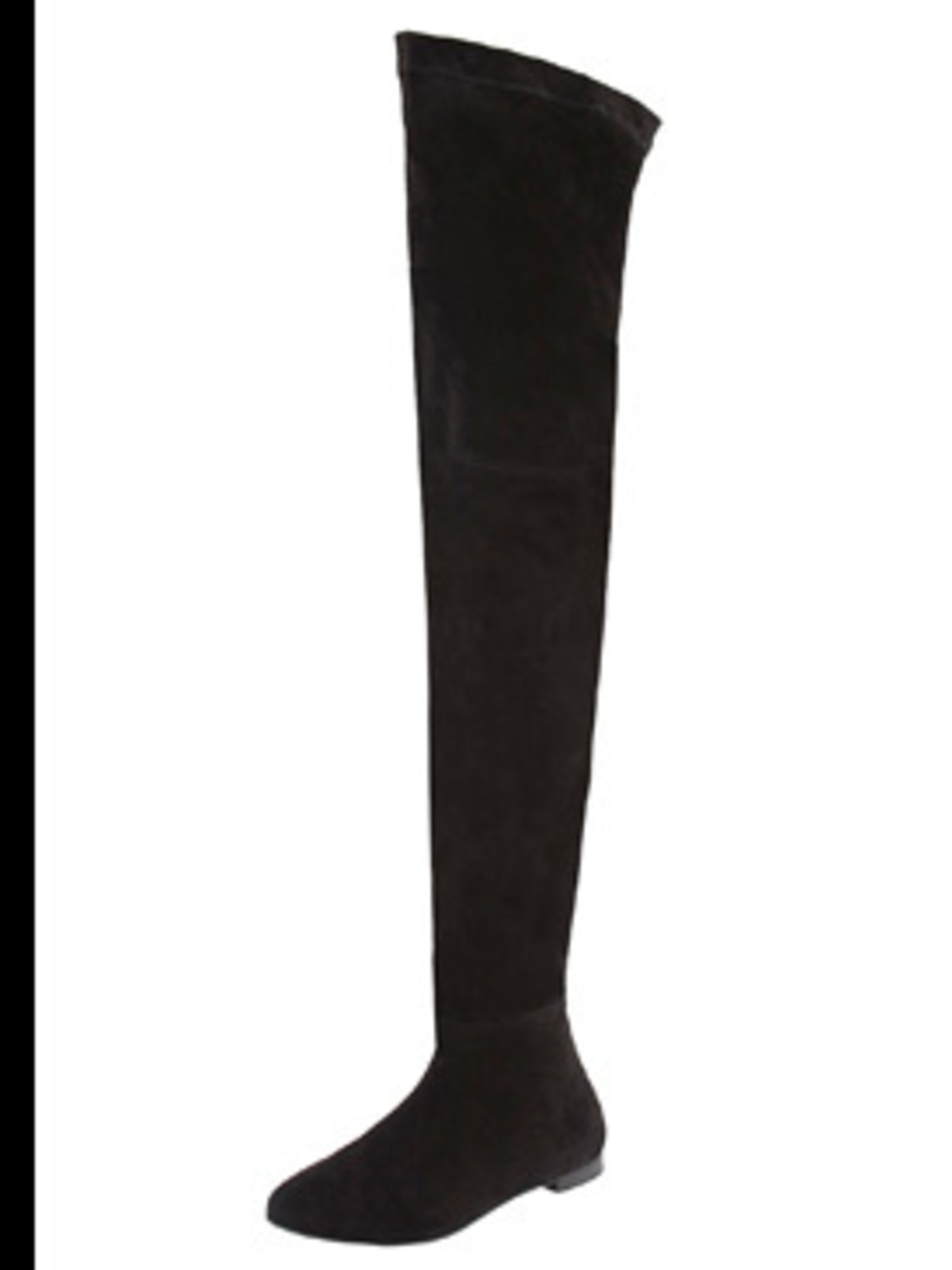 <p>Thigh high boots £69.99 by Zara</p>