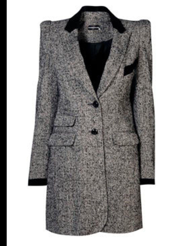 <p>Tweed coat, £100, by Warehouse (0870 1228 813)</p>