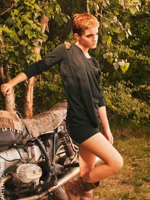 "<p><a href=""http://www.elleuk.com/starstyle/style-files/%28section%29/emma-watson"">Emma Watson</a> proves eco-fashion can be edgy in her final collection for People Tree</p>"