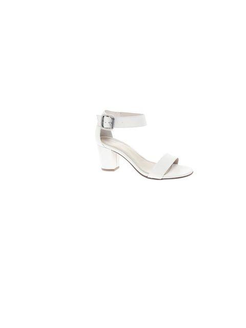"""<p>A midi heel equals maximum chic this summer, KG <a href=""""http://www.kurtgeiger.com/women/shoes/nina-white-leather-41-kg-kurt-geiger-shoe.html"""">Kurt Geiger</a> 'Nina' sandals, £95</p>"""