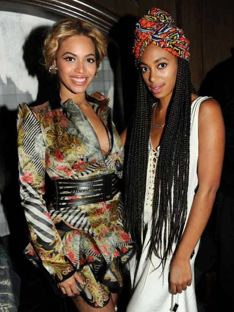 <p>Beyonce and Solange Knowles at The Cosmopolitan And Marquee Nightclub New Years celebrations in Las Vegas, 31st December 2010</p>