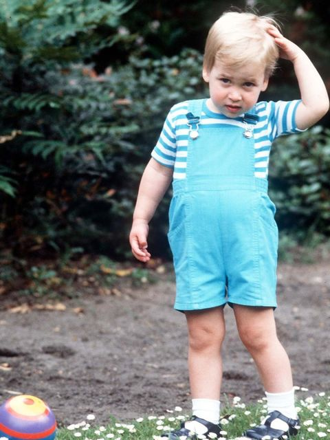 "<p><a href=""http://www.elleuk.com/star-style/celebrity-style-files/prince-william-elle-man-of-the-week"">Prince William</a> was the first royal baby to wear disposable nappies.</p><p><em>Prince William in 1984, aged two.</em></p><p><a href=""http://www.elle"