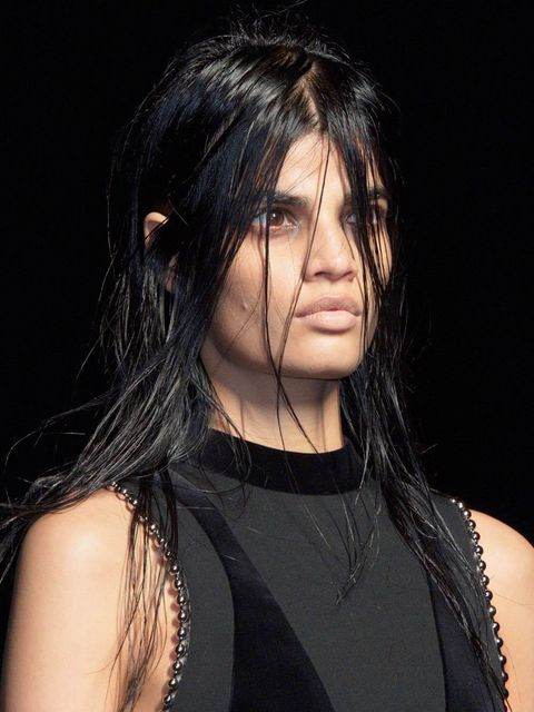 """<p><strong><a href=""""http://www.elleuk.com/catwalk/alexander-wang/autumn-winter-2015"""">Alexander Wang</a></strong></p>  <p>The look: Ghoulish</p>  <p>Make-up artist: <a href=""""http://www.elleuk.com/beauty/the-beauty-experts-you-need-to-know-charlotte-tilbury"""
