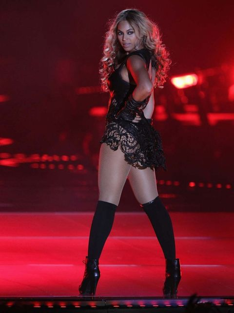 "<p><strong>Beyoncé rocks the Superbowl</strong> </p><p><a href=""http://www.elleuk.com/star-style/news/beyonce-releases-surprise-album-on-itunes"">Beyoncé</a> kicked off 2013 with a scene-stealing performance at the Superbowl half-time show, which included"