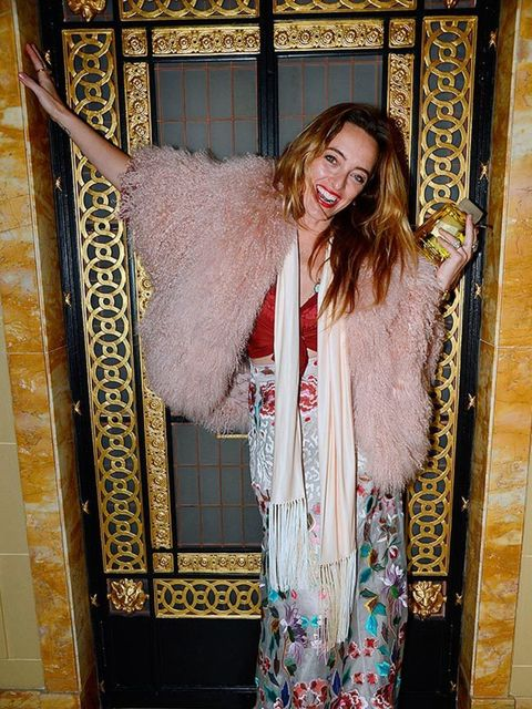 <p>Alice Temperley at the Edward Enninful Celebrations British Fashion Awards after-party in London, December 2014.</p>