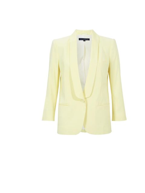 """<p><a href=""""http://www.frenchconnection.com/"""">French Connection</a> blazer, £165</p>"""