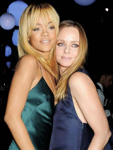 "<p><a href=""http://www.elleuk.com/star-style/celebrity-style-files/rihanna"">Rihanna</a> & <a href=""http://www.elleuk.com/content/search?SearchText=Stella+McCartney&SearchButton=Search+Again"">Stella McCartney</a> at the designer's autumn/winter 201"