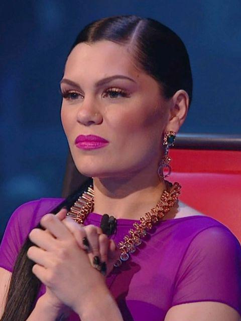 <p>Jessie J's look on The Voice, Sunday</p>