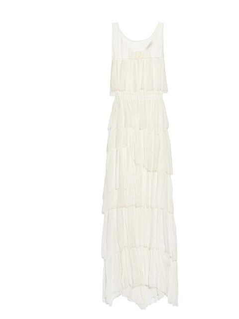 "<p>Nina Ricci silk-chiffon gown, was £2,419 now £1,693, at <a href=""http://www.net-a-porter.com/product/336984"">Net-a-Porter</a></p>"