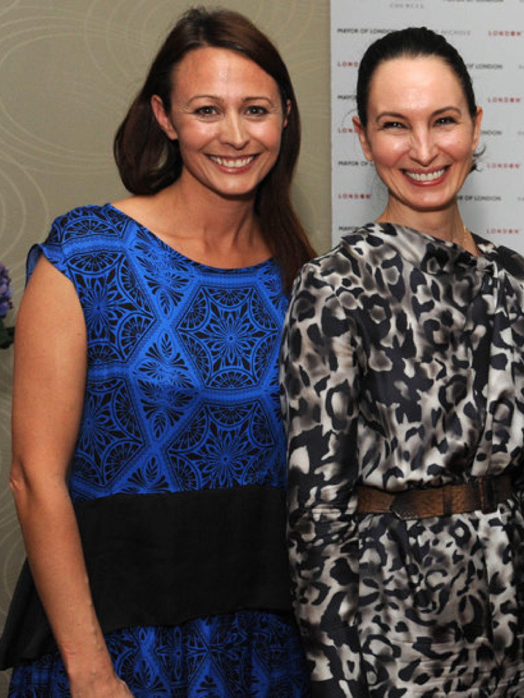 <p>Caroline Rush and Paula Reed</p>