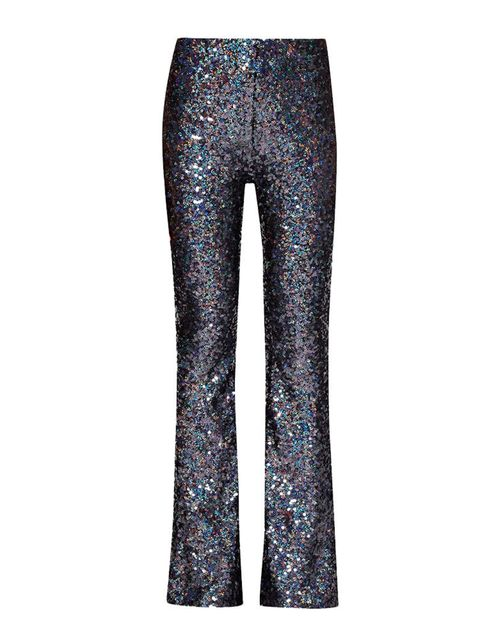 """<p>Pair sequin flares with an over-sized mans shirt or cashmere jumper for a more relaxed look in the daytime. </p>  <p>Trousers, £91, <a href=""""http://www.frenchconnection.com/product/74ENS/Lunar+Sparkle+Sequin+Flares.htm?search_keywords=sequin"""" target="""""""