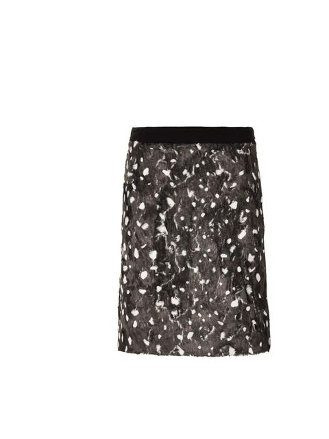 """<p>Faux-fur is having a bit of a moment for a/w 2013, and this printed skirt is on Digital Director Phebe Hunnicutt's seasonal shopping list. </p><p><a href=""""http://www.topshop.com/en/tsuk/product/clothing-427/boutique-440/printed-fur-pencil-skirt-by-bout"""