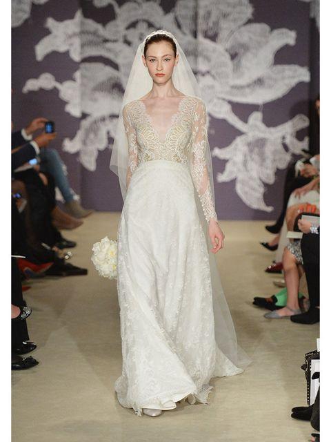 "<p>Carolina Herrera, spring 2015</p><p><em><a href=""http://www.elleuk.com/style/occasions/elle-weddings"">How ELLE gets married</a></em></p>"