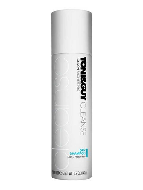"""<p><a href=""""http://www.boots.com/en/Toni-Guy-Cleanse-Dry-Shampoo-250ml_1234365/"""">Toni & Guy Cleanse Dry Shampoo, £7.49</a></p><p>OBVIOUSLY a must all year round, but running from show to show to office to show to party to office to show, means Fashion Wee"""