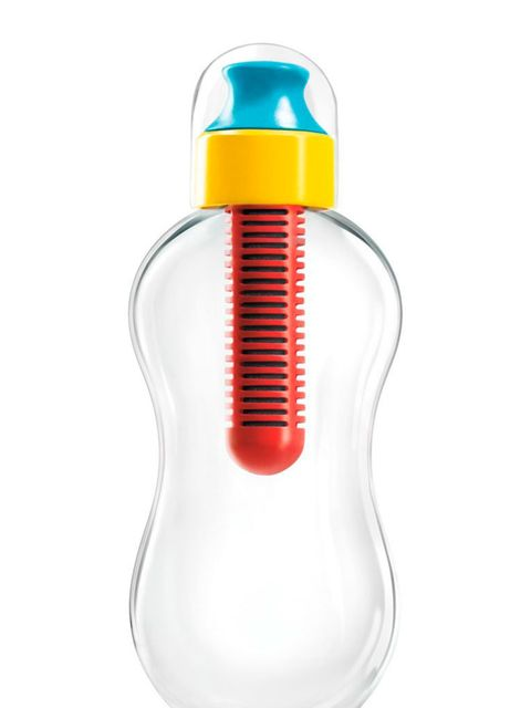 """<p><a href=""""http://www.waterbobble.nl/bobble.html"""" target=""""_blank"""">Bobble bottle, from £9.99 </a></p>  <p>Filtered water on the run. Size options vary - we rate the mini if you're after a bottle to run with. </p>"""