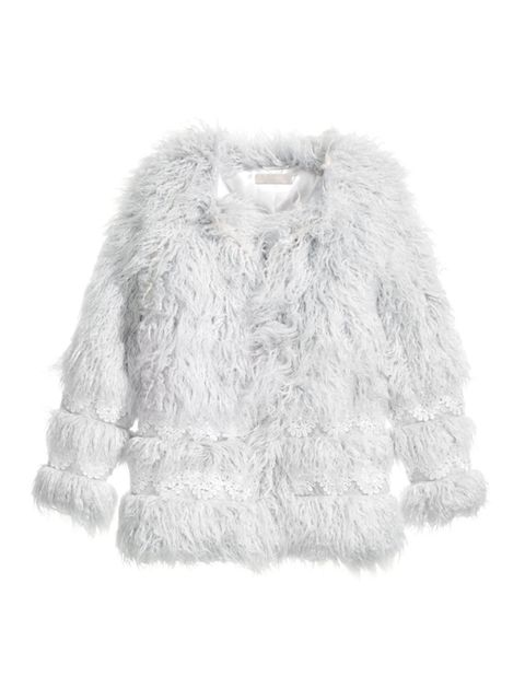 "<p>ALEXA'S TIP: No rules is my rule</p>  <p><a href=""http://www.hm.com/gb/product/75659?article=75659-A"" target=""_blank"">H&M</a> faux-fur jacket, £99</p>"