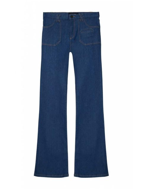 "<p>Could these be the perfect 1970s flares? Try them with a poloneck, and find out.</p>  <p><a href=""http://www.gerarddarel.com/en_uk/argentina-139228.html"" target=""_blank"">Gerard Darel</a> jeans, £140</p>"