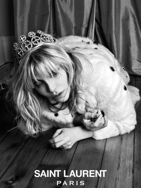 <p>Courtney Love for Saint Laurent's Music Project</p>