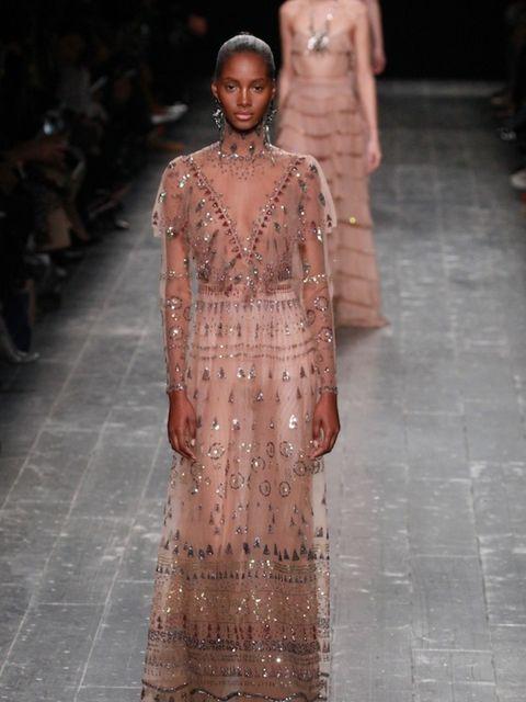 <p>Valentino AW16 at Paris Fashion Week</p>