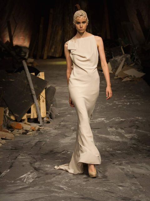 <p><strong>David Fielden</strong></p><p><strong>Who?</strong> Fashion-led styles with an ethereal leaning, Fielden's creations are avant-garde yet sophisticated and perfect for brides craving something unexpected for the big day.</p><p><strong>When?</stro