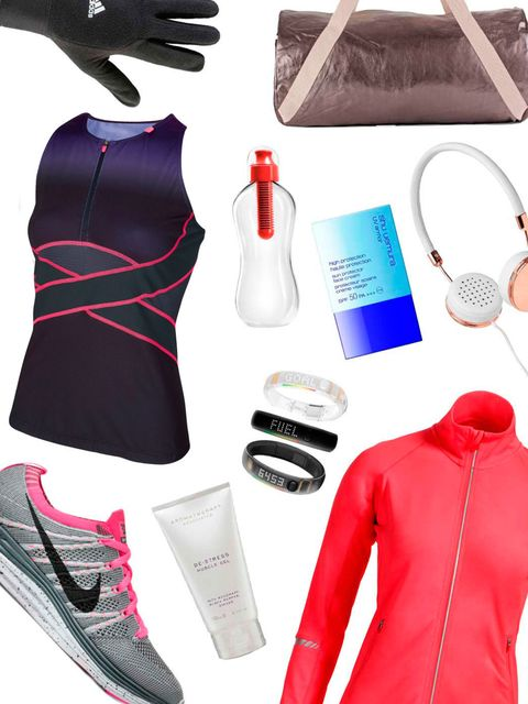 <p>New to the Running Club? Don't worry, you're not too late. We're inviting you to join team ELLE in a bid to get fit for 2013 and run 0-5K in just six weeks. </p><p>We've rounded up our favourite beauty, gadget and fashion picks to get you started.</p><