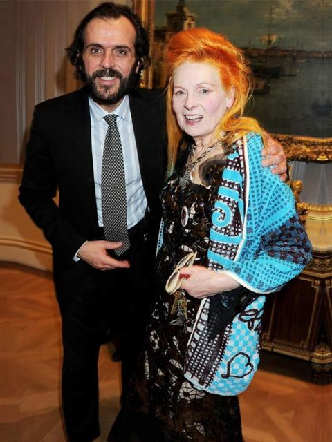 <p>Vivienne Westwood and Andreas</p>