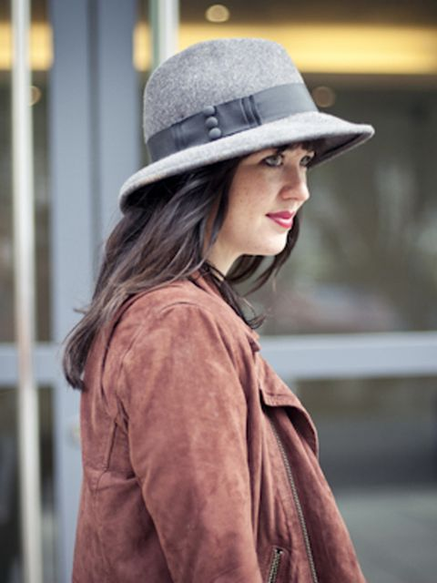 <p>Acting online fashion editor Alannah Sparks</p>