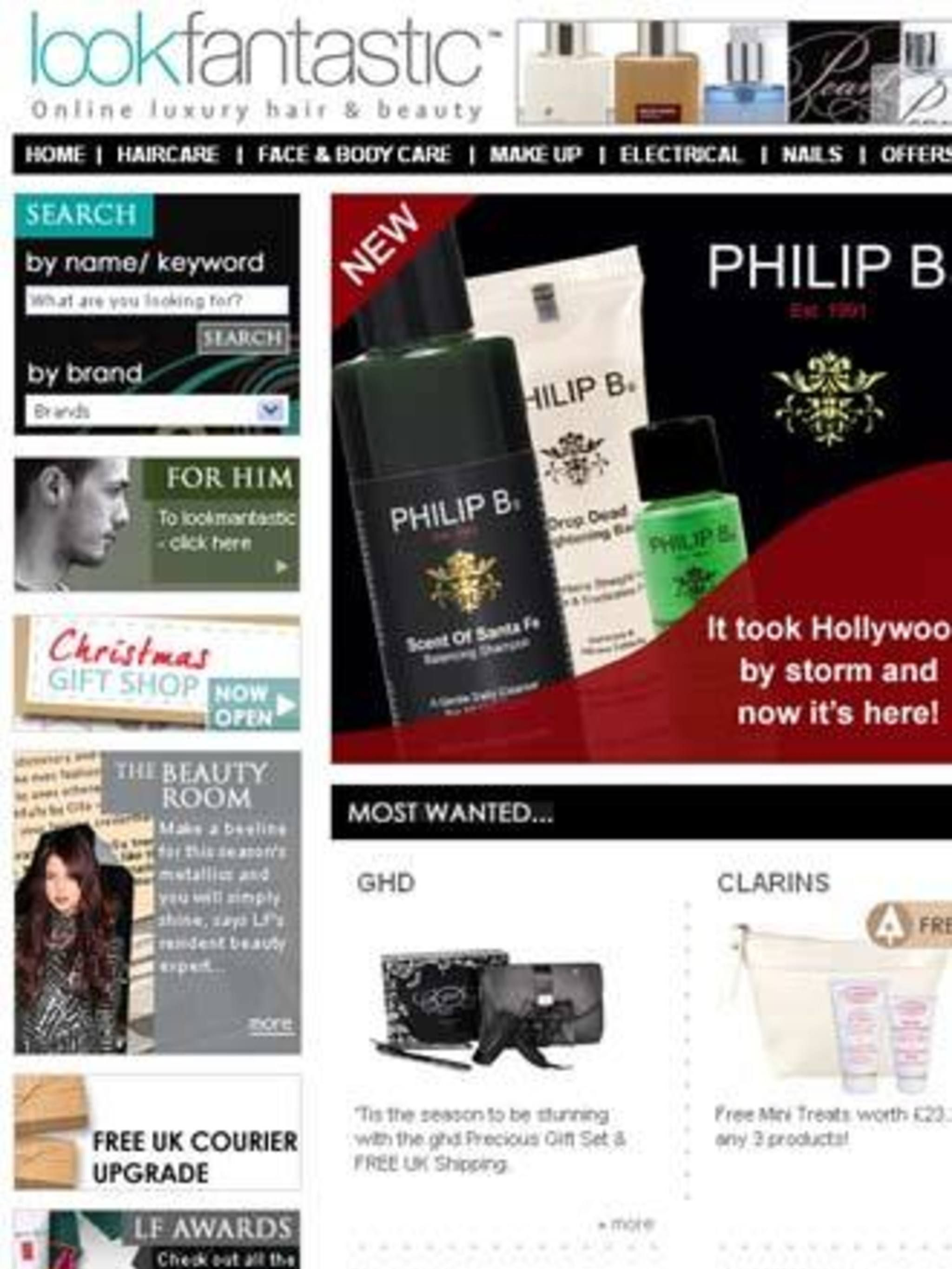<p>A really simple - and pretty addictive - website Look Fantastic (and Look Mantastic!) have everything you could want. As with most sites you can shop by brand and product type - haircare, make up, nails etc; but what makes this site really interesting