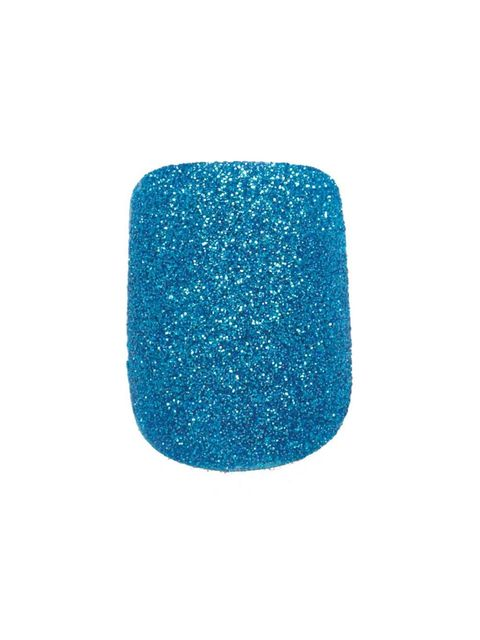 <p>Glitter nails always look a bit daunting but with GOSH Nail Glitter, £3.99 (Superdrug nationwide), it couldn't be easier to get a full-on sparkle. Paint the entire nail with clear polish and while it is still wet dip your finger into the pot. Give it a