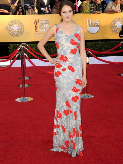 "<p>The Descendants star Shailene Woodley in <a href=""http://www.elleuk.com/catwalk/designer-a-z/l-wren-scott/spring-summer-2012"">L'Wren Scott</a> at the SAG Awards.</p>"