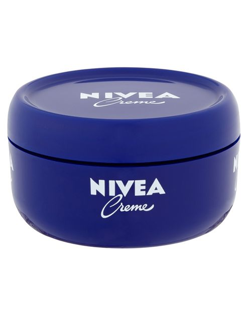 """<p>Lotte Jeffs, Deputy Editor</p><p><a href=""""http://www.boots.com/en/Nivea-Creme-200ml_922142/"""" target=""""_blank"""">Nivea Creme, £2.99.</a></p><p>'Not even fancy £100 face creams makes my face feel this moisturized and soft.'</p>"""