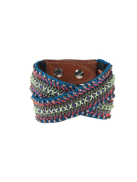 "<p>Fusing our love of neon and friendship-style bracelets, this Fiona Paxton cuff will pep up your style in a flash… Fiona Paxton cuff, £140, at <a href=""http://www.accessoriesonline.co.uk/fiona-paxton-diana-wrap-cuff-in-pink-and-gold.html"">Accessoriesonl"