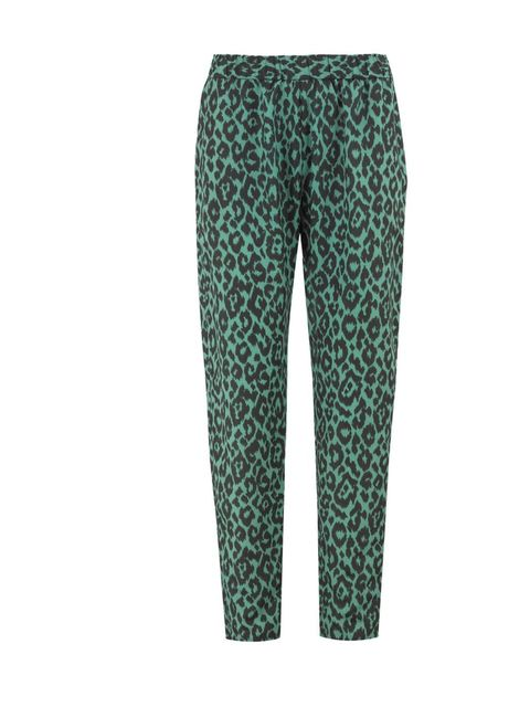<p>The printed trouser trend has been bubbling under the surface for a while but it's just about to go stellar. One part pyjama, one part luxe trouser, get in on the act early with this pair… Helene Berman leopard printed trousers, £89, at Fenwick for sto