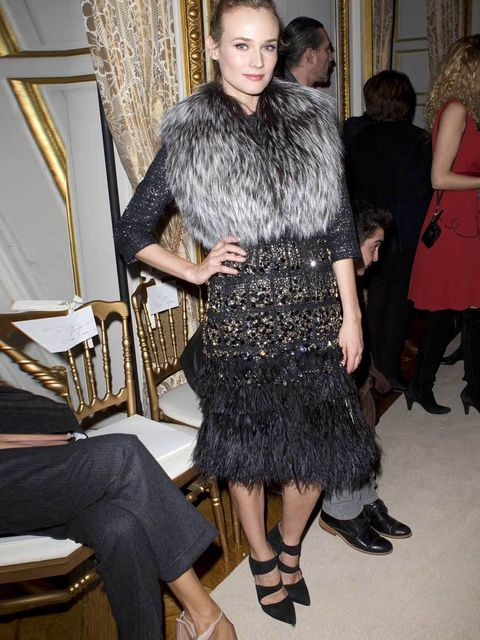 "<p><a href=""http://www.elleuk.com/star-style/celebrity-style-files/diane-kruger"">Diane Kruger</a> front row at the <a href=""http://www.elleuk.com/catwalk/designer-a-z/giambattista-valli/couture-ss-2012"">Giambattista Valli Couture show</a>, January 2012 </"