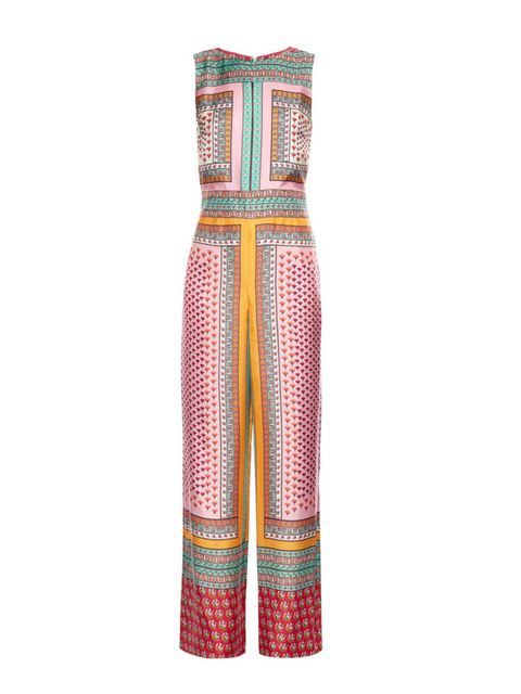 "<p>Silk printed jumpsuit, £580, <a href=""https://www.net-a-porter.com/gb/en/product/678338/Diane_von_Furstenberg/jalessa-printed-silk-jumpsuit"" target=""_blank"">Diane von Furstenberg</a></p>"