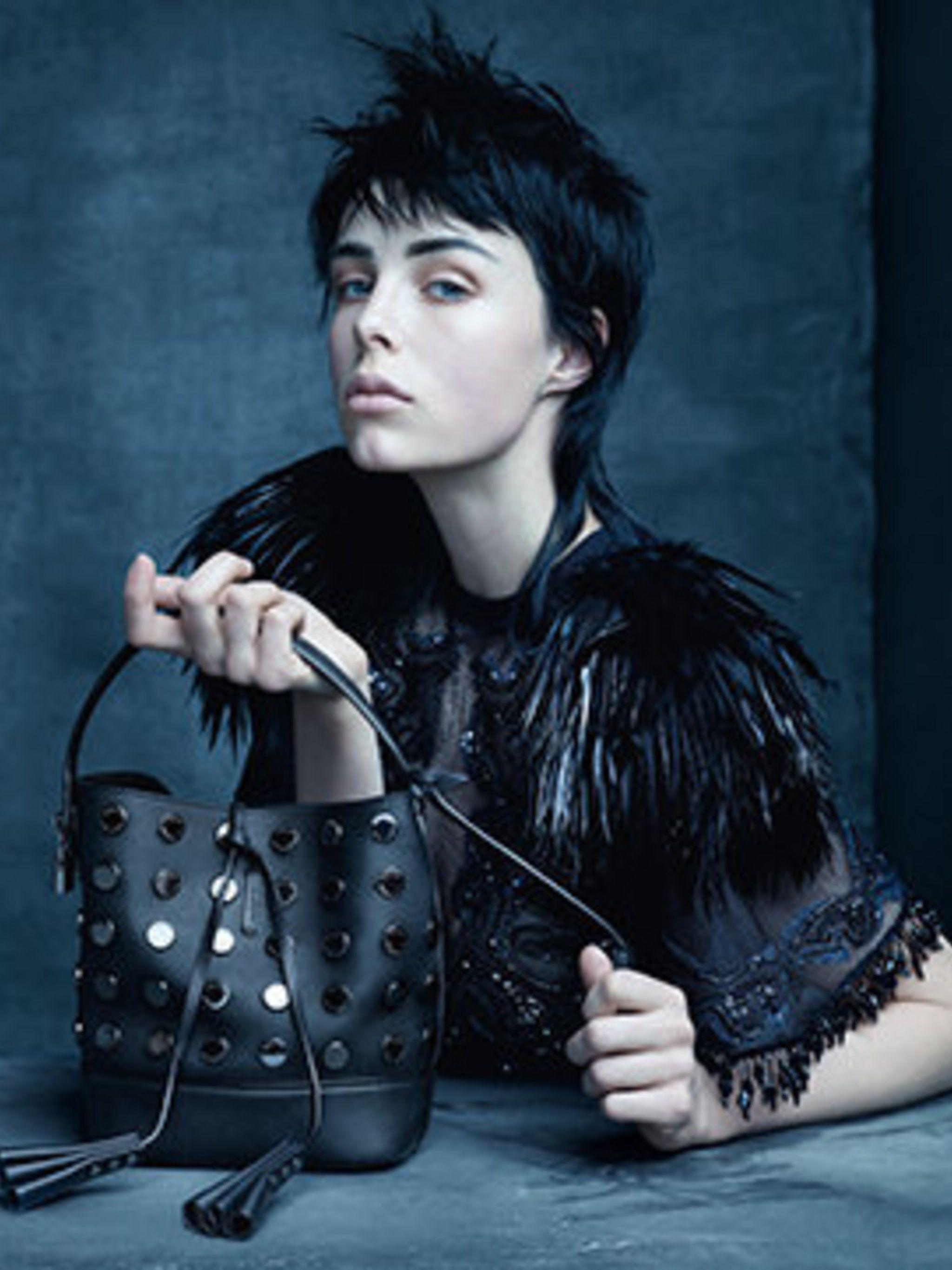 <p>Edie Campbell for Louis Vuitton, spring/summer 2014</p>