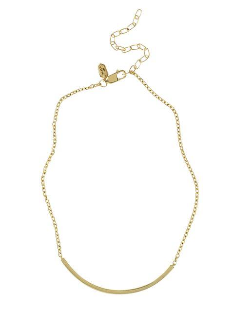<p>Gold-plated silver bracelet, &pound&#x3B;130, Maria Black</p><p>&nbsp&#x3B;</p>
