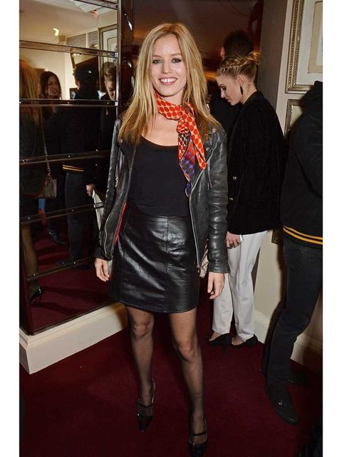 <p>Georgia May Jagger at the launch of LOVE special editions, London Fashion Week.</p>