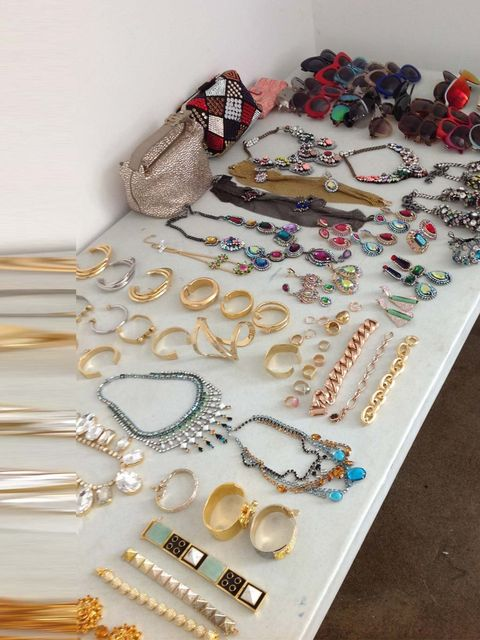 "<p>Jewellery for the shoot. </p><p><a href=""http://www.elleuk.com/elle-tv/cover-stars/elle-magazine/candice-swanepoel-model-behind-the-scenes-elle-december-issue-victoria-secret""></a></p><p><a href=""https://itunes.apple.com/gb/app/elle-magazine-uk/id46935"